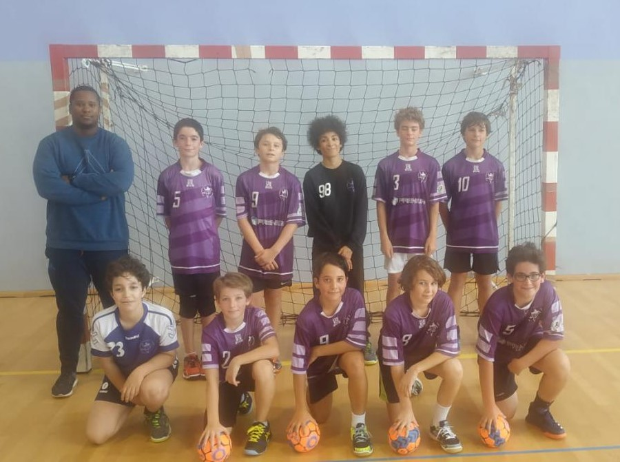 U13 M1 - PARIS UNIVERSITE CLUB HANDBALL