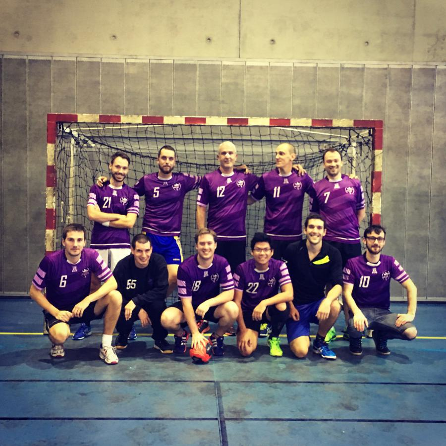 Seniors Masculins 1 - PARIS UNIVERSITE CLUB HANDBALL